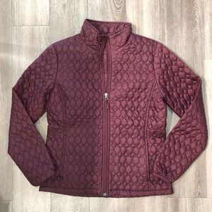 NWT Lands End insulted burgundy jacket